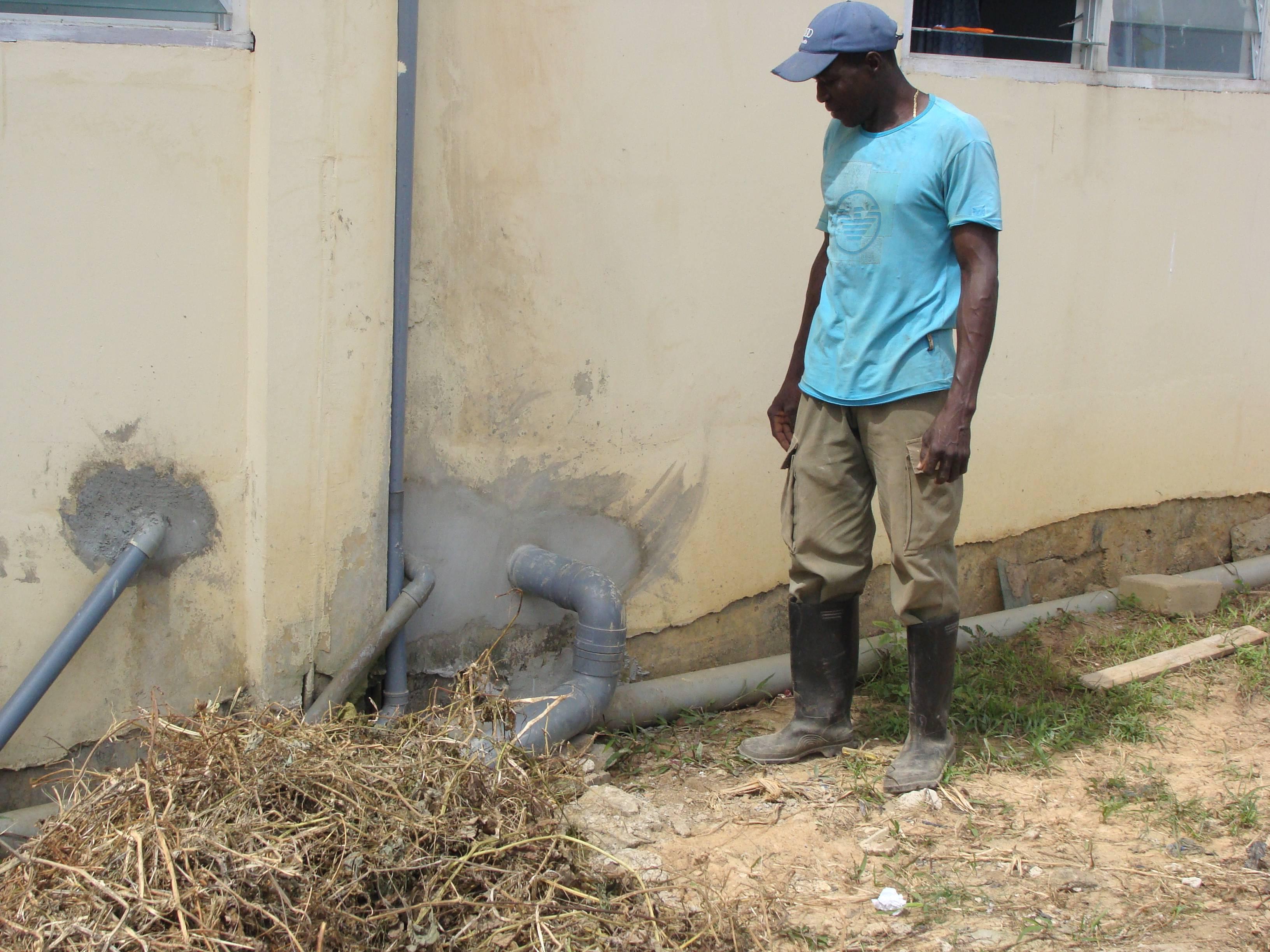 Februari 2017: renovatie sanitair start