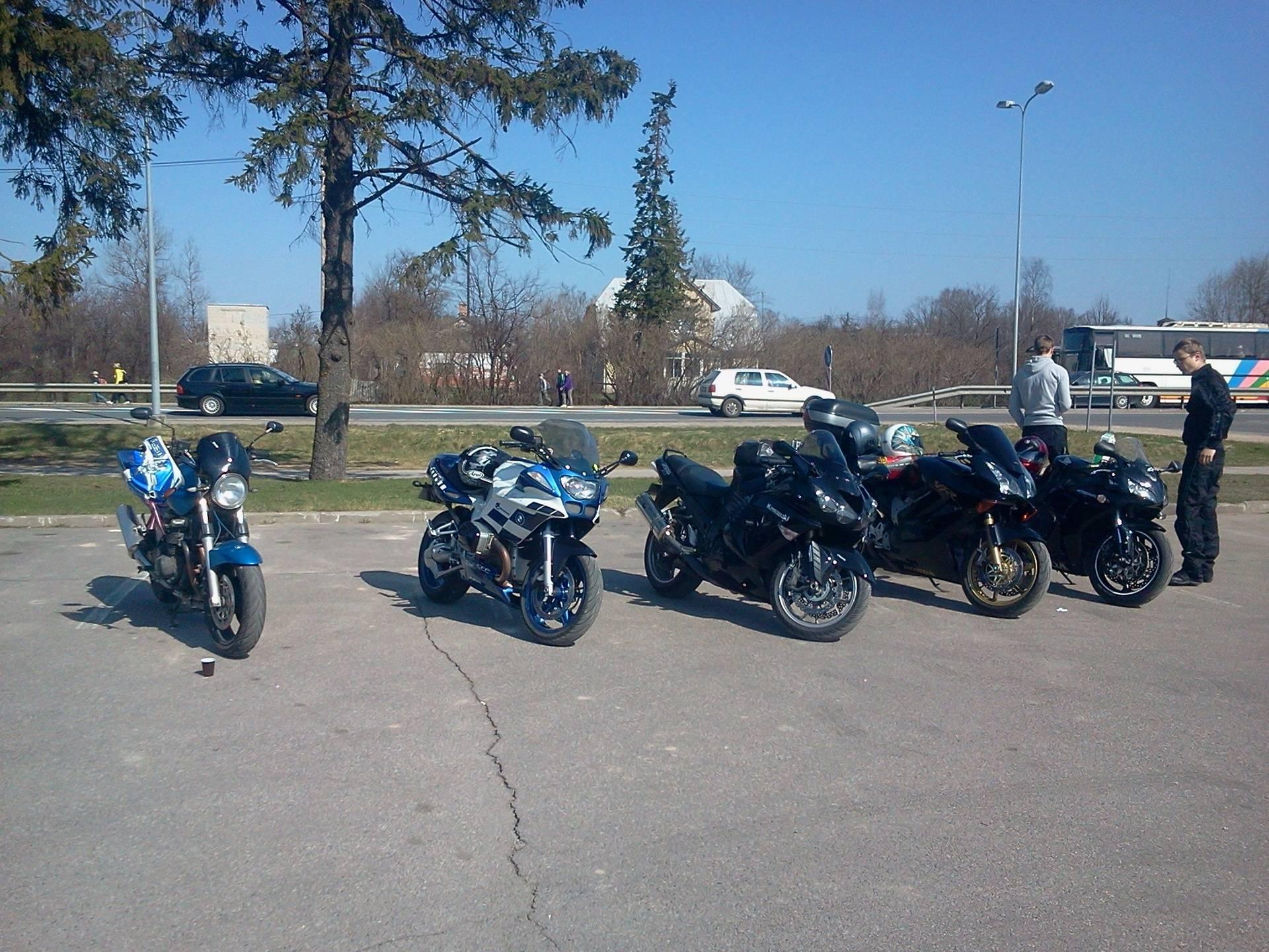 Sigulda ar motociklu