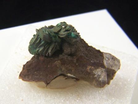 Chrysocolla After Azurite Pseudomorph 09-00262