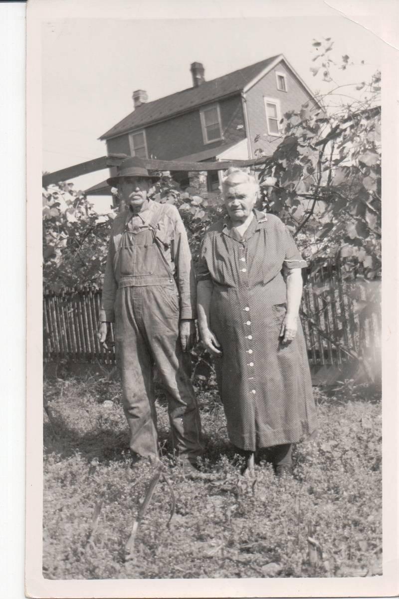 William Shingler and Fannie Stevens