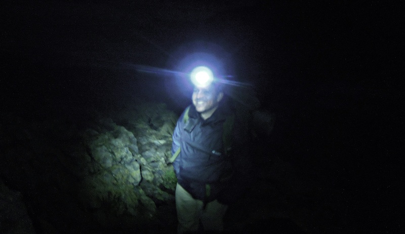 Meeting up with Andrew Dryad Bushcraft for night 2 cave sleeping