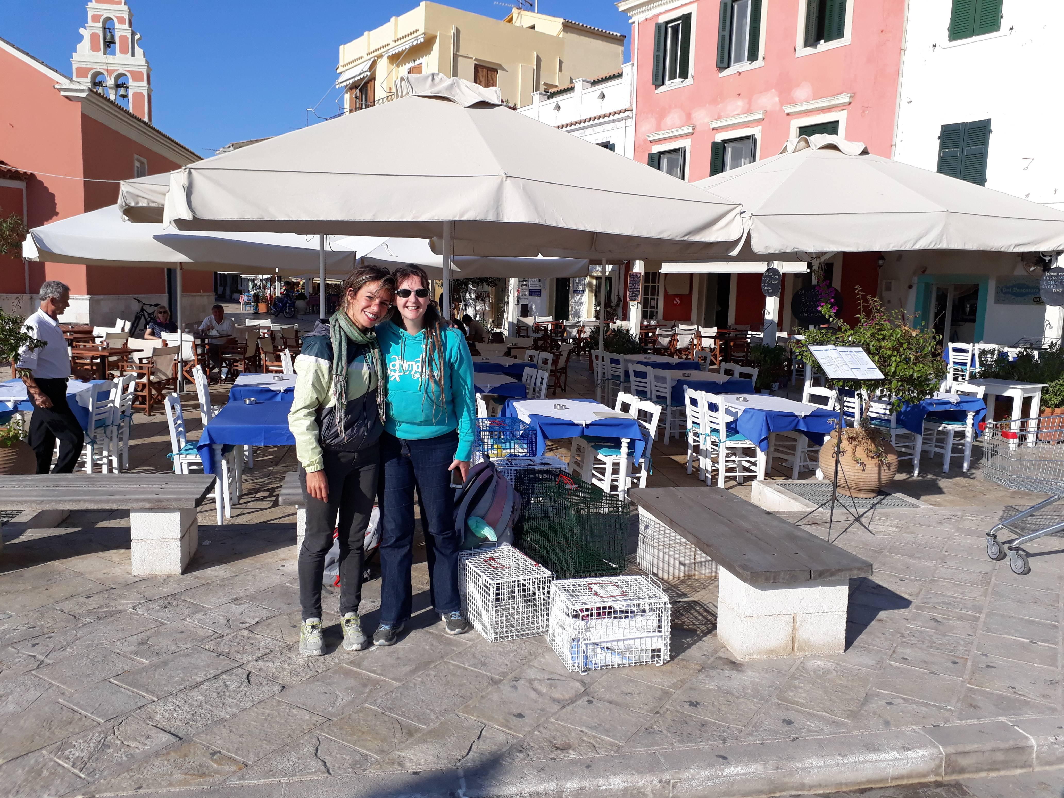 Nefeli & Heidi in Agrapidia