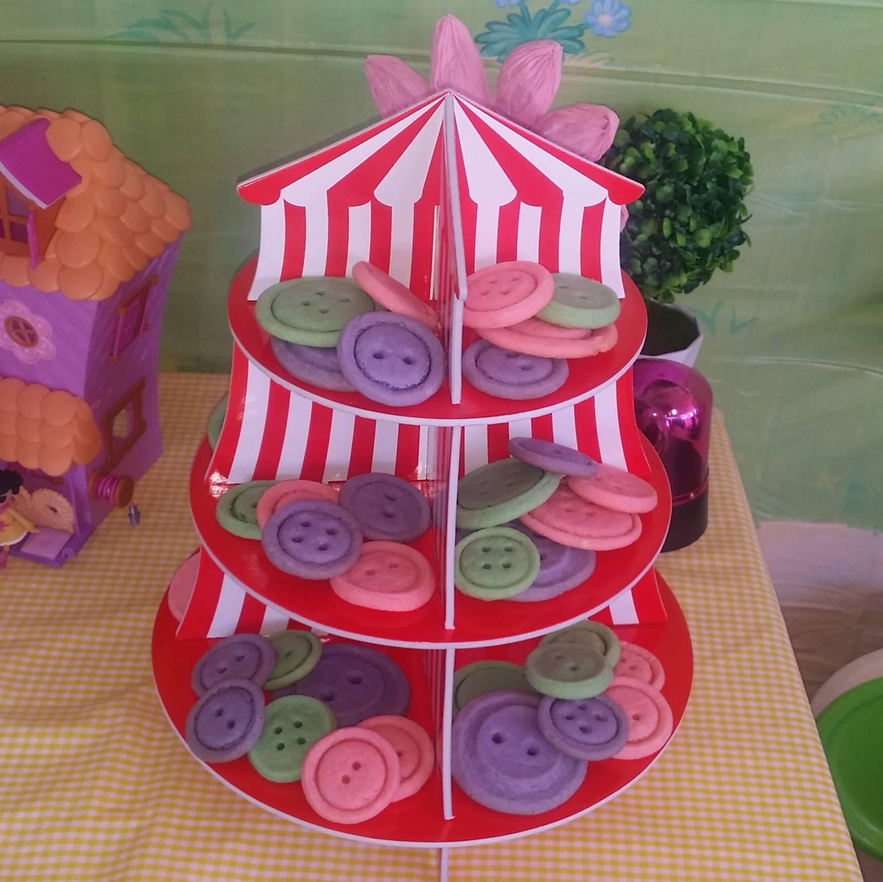 LaLaLoopsy Button Sugar Cookies