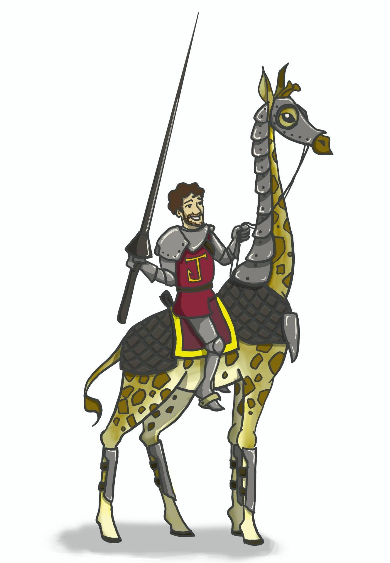 Giraffe Jousting