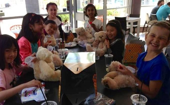 Build a bear party