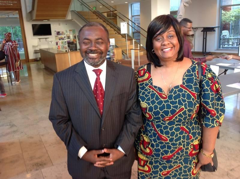 Beverly Ezeokoli and Gnaka