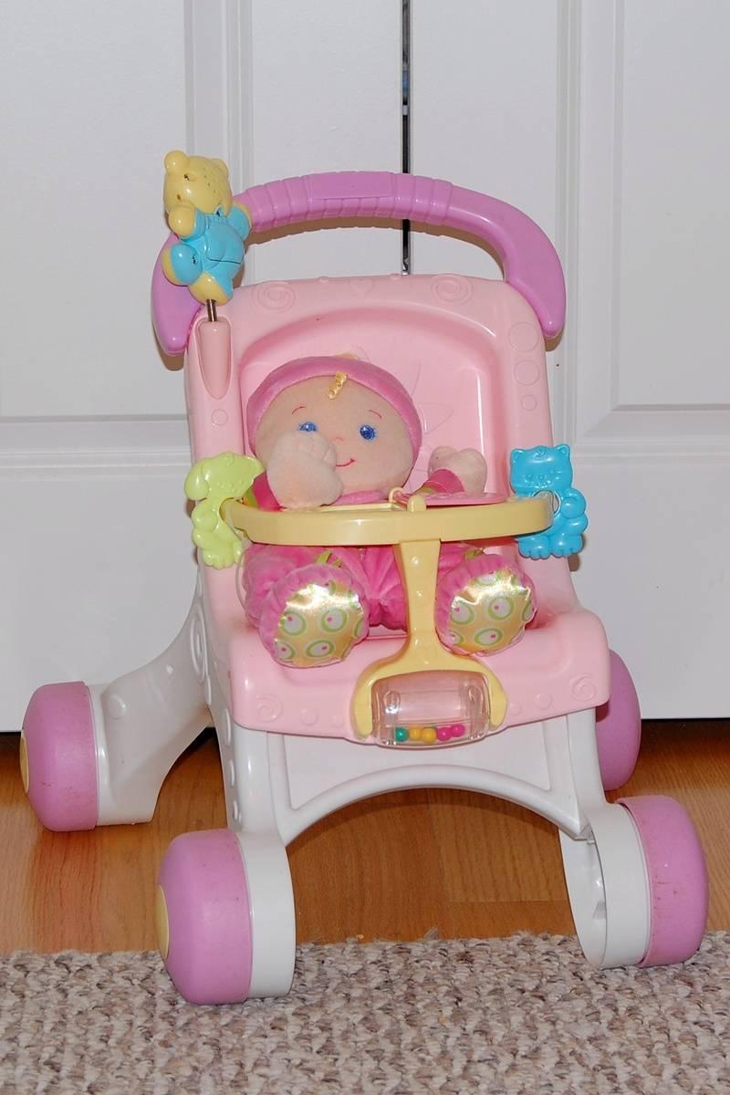 Baby's First Walker Stroller