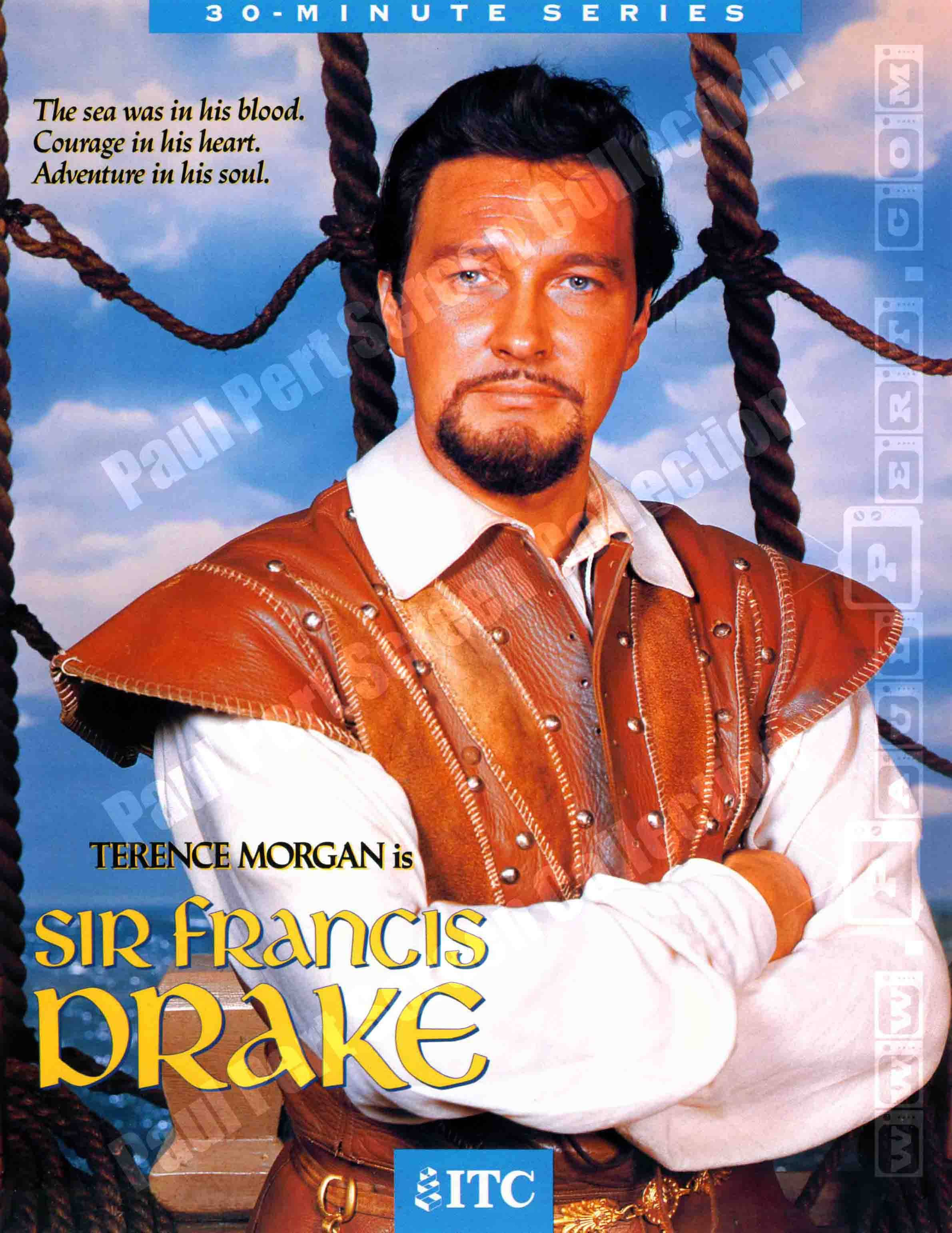Sir Francis Drake (Terence Morgan)