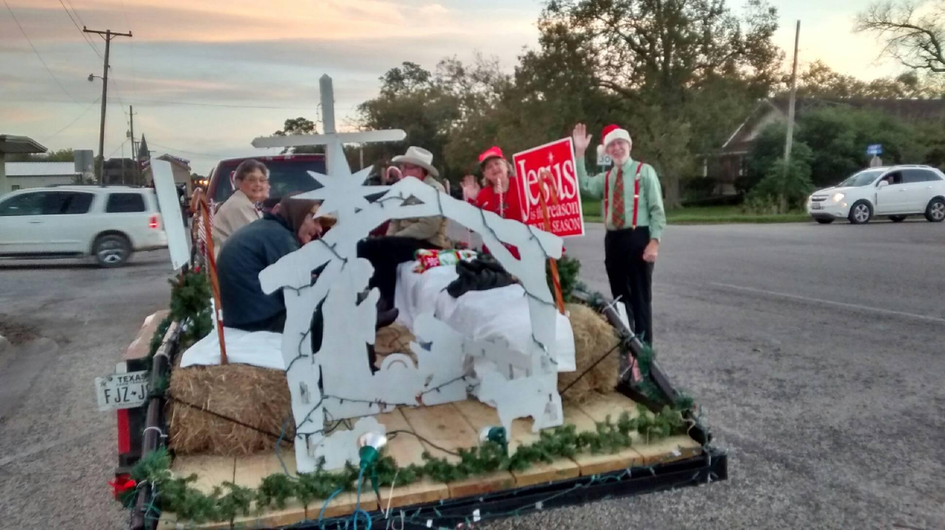 Christmas parade float 4