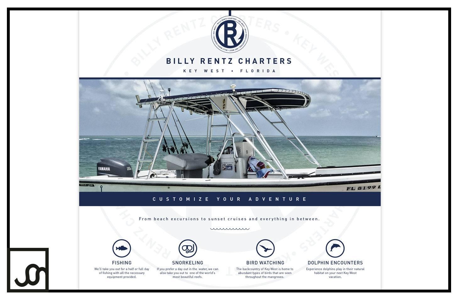 Billy Rentz Charters Web Page