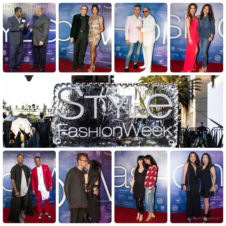 Red Carpet Style At Style Fashion Week  LA 2017