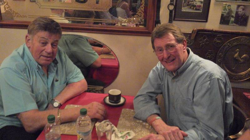 Wayne Bridges and Pete Roberts