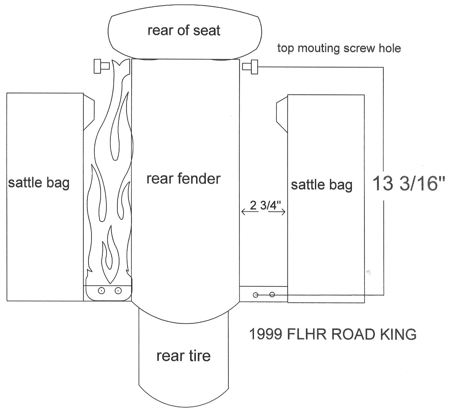 1999 FLHR ROAD KING