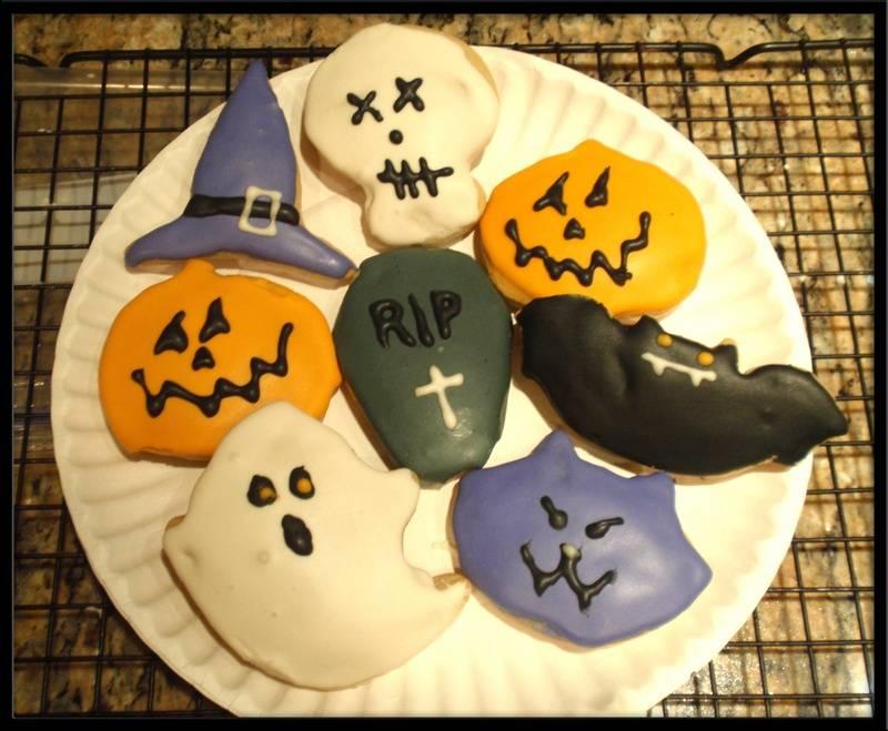 2011 Halloween Cookies