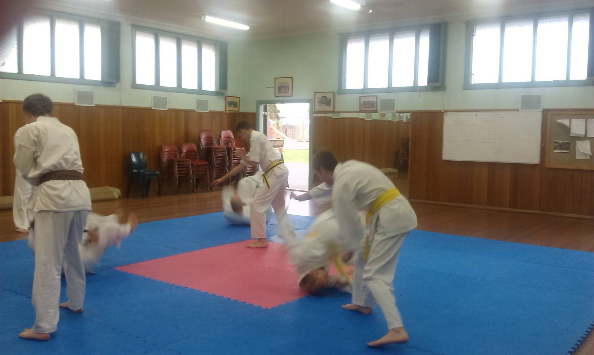 2014 Karate in action!