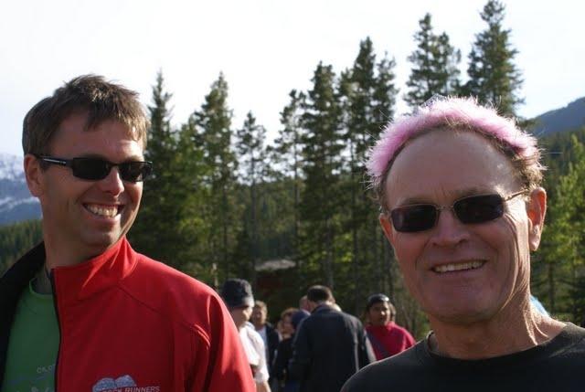 Finish line Prince John and Rob