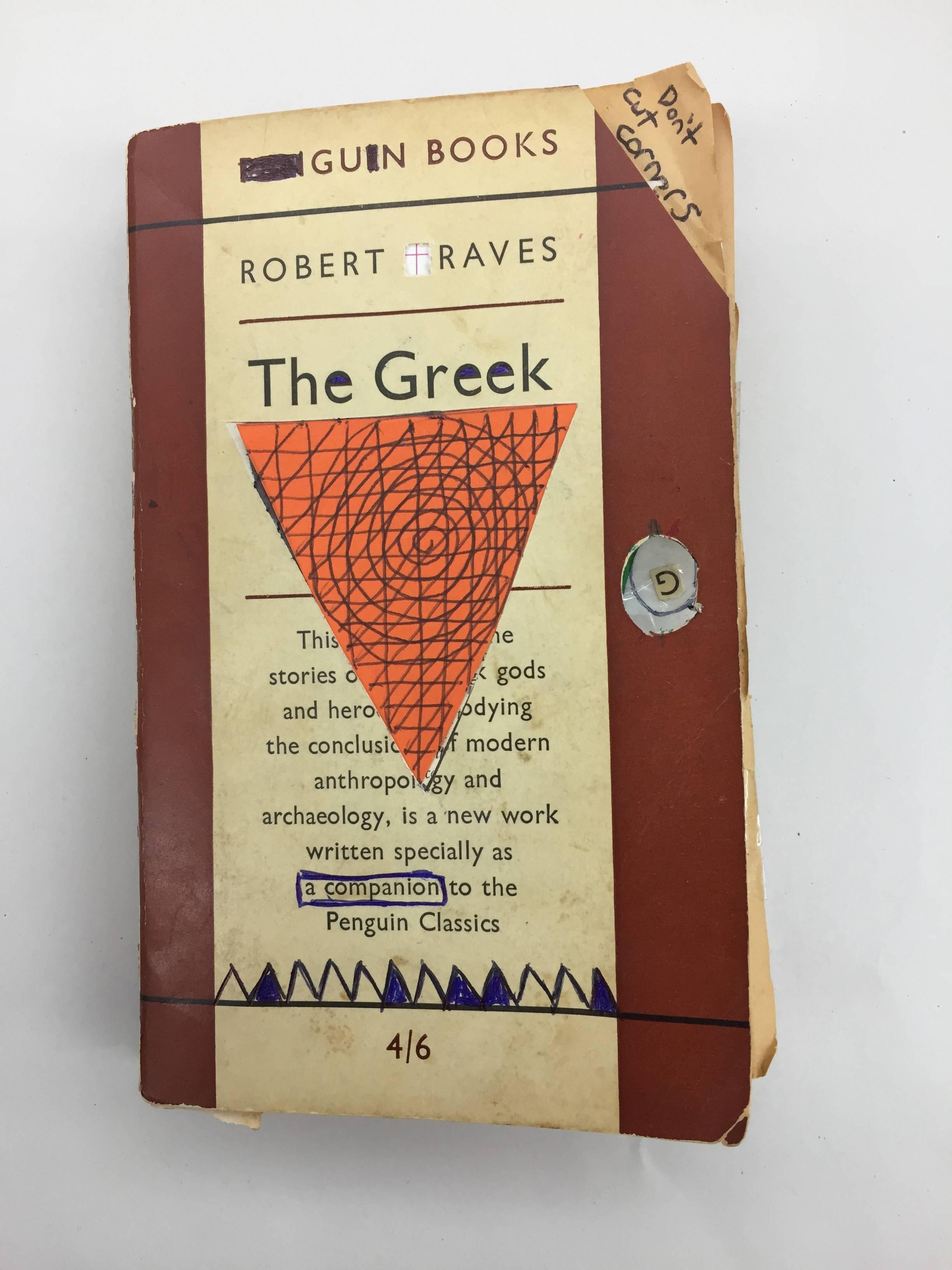 The Greek - book desecration