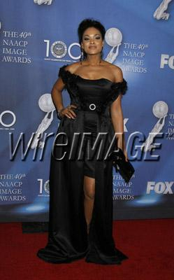 Dee Dee At The 40th Annual NAACP Awards