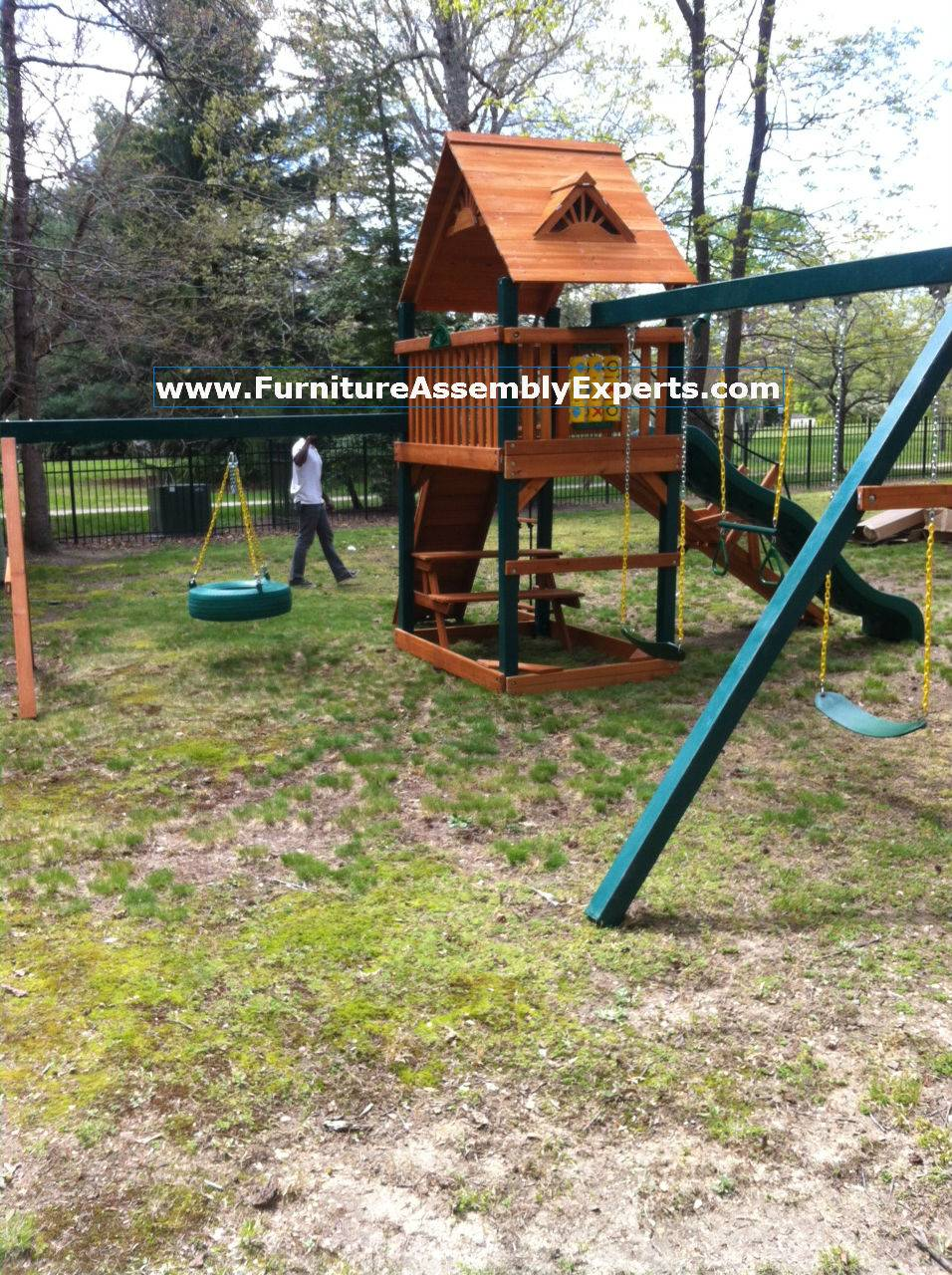 gorilla swing set assembly service in waldorf MD