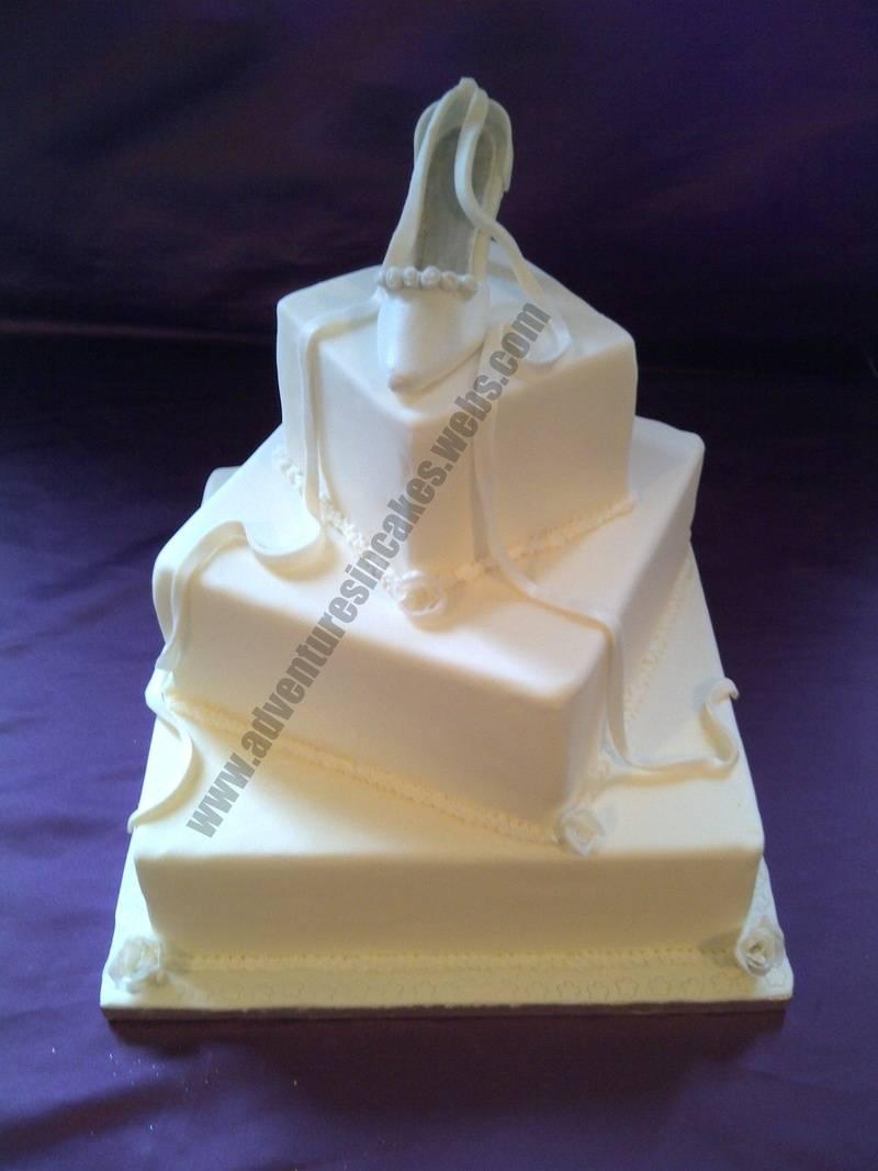 Shoe Wedding Cake