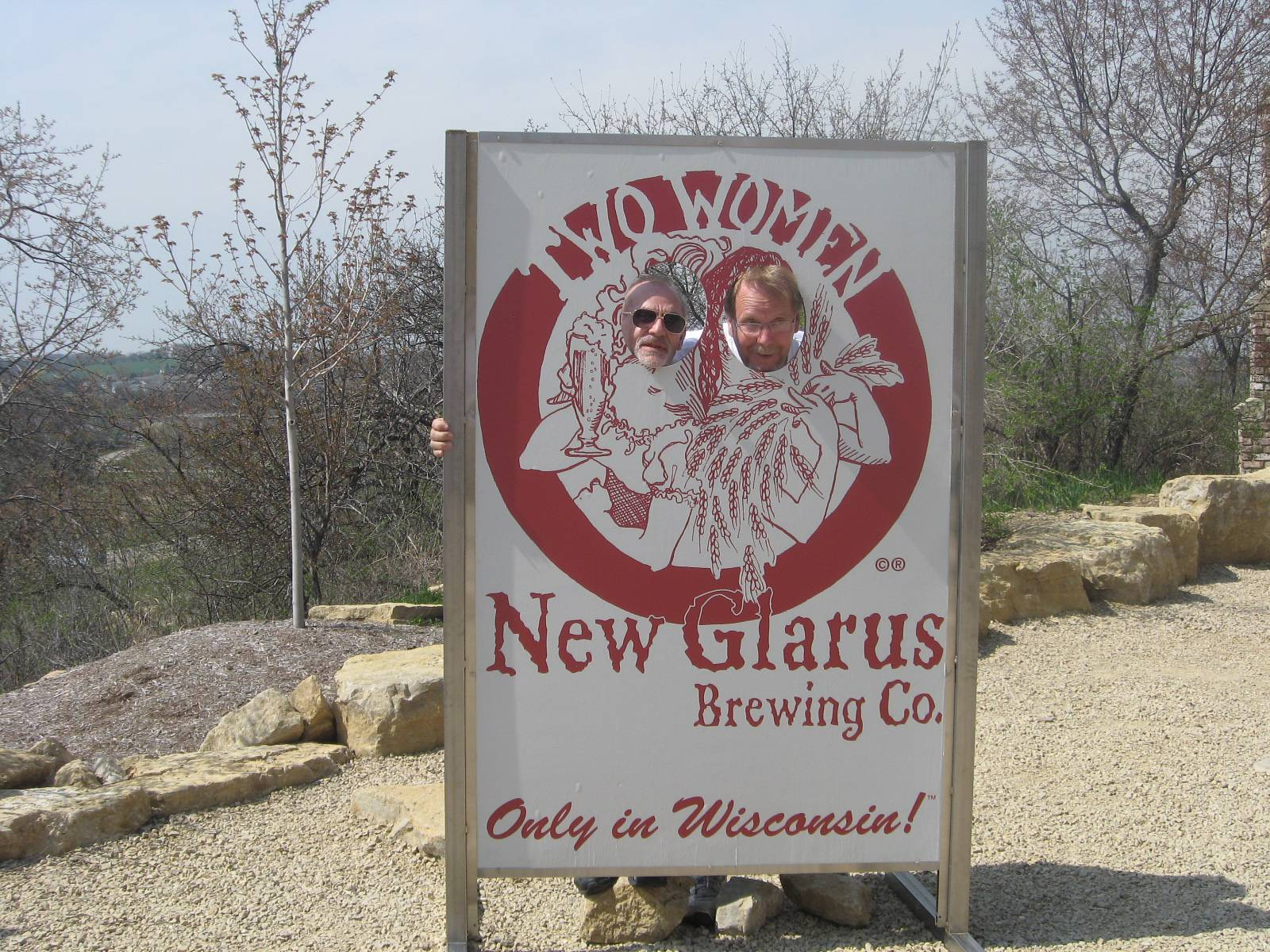 At the New Glarus Brewery