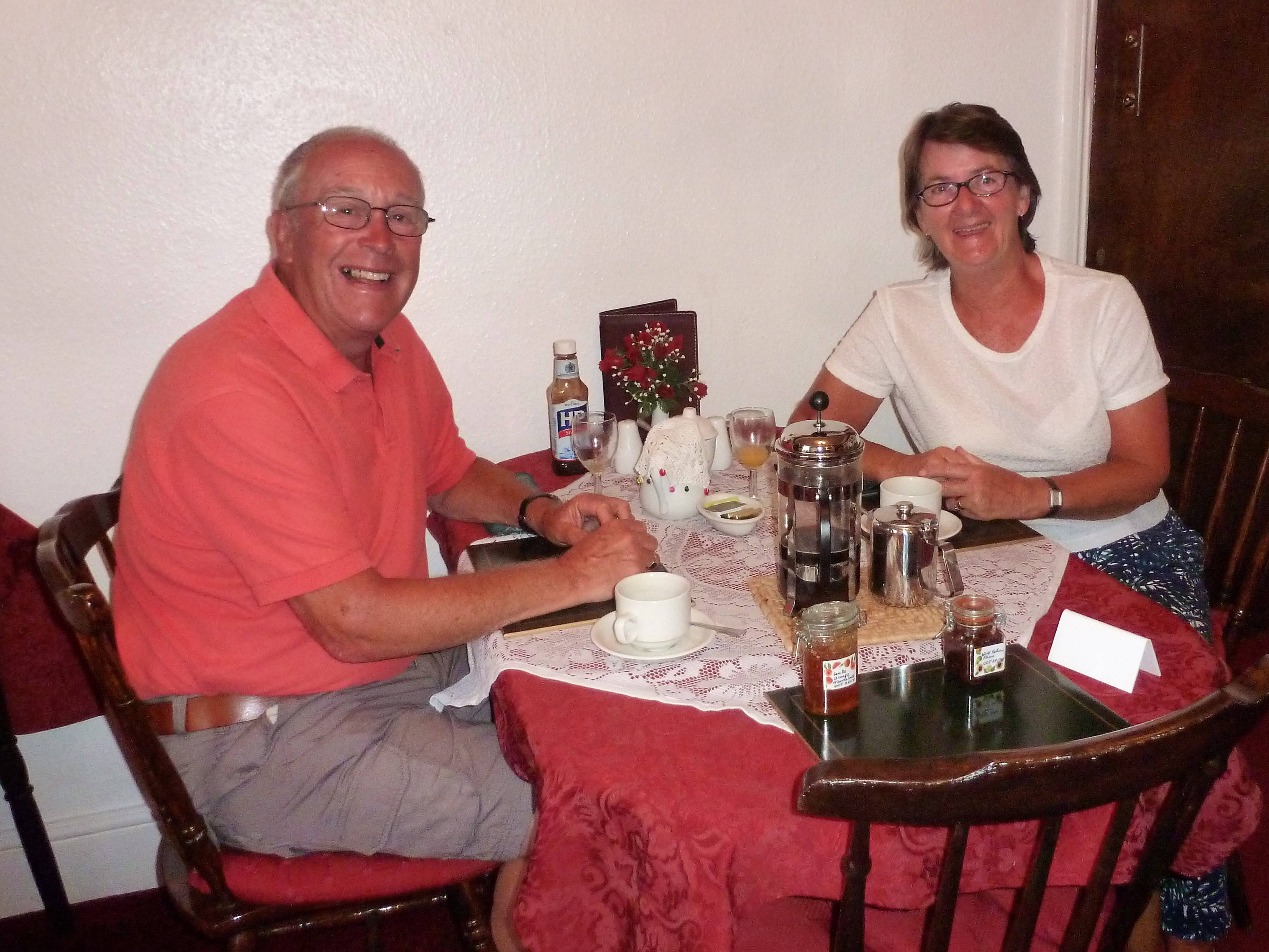 Philip & Margaret