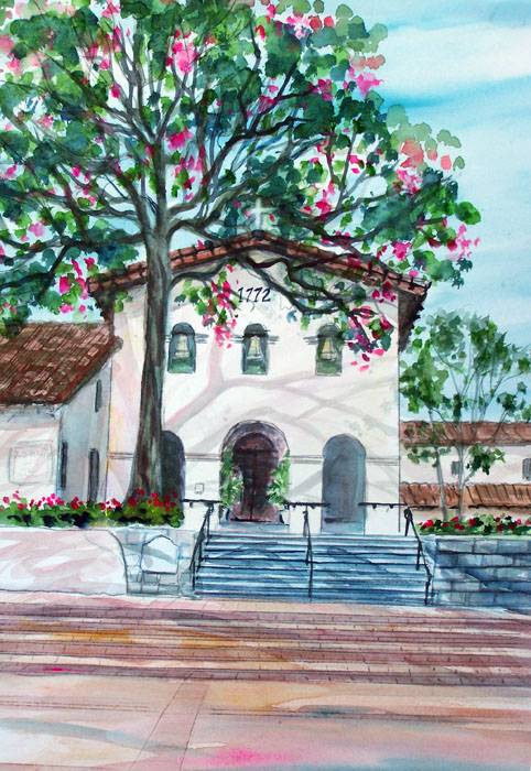 The San Luis Obispo Mission