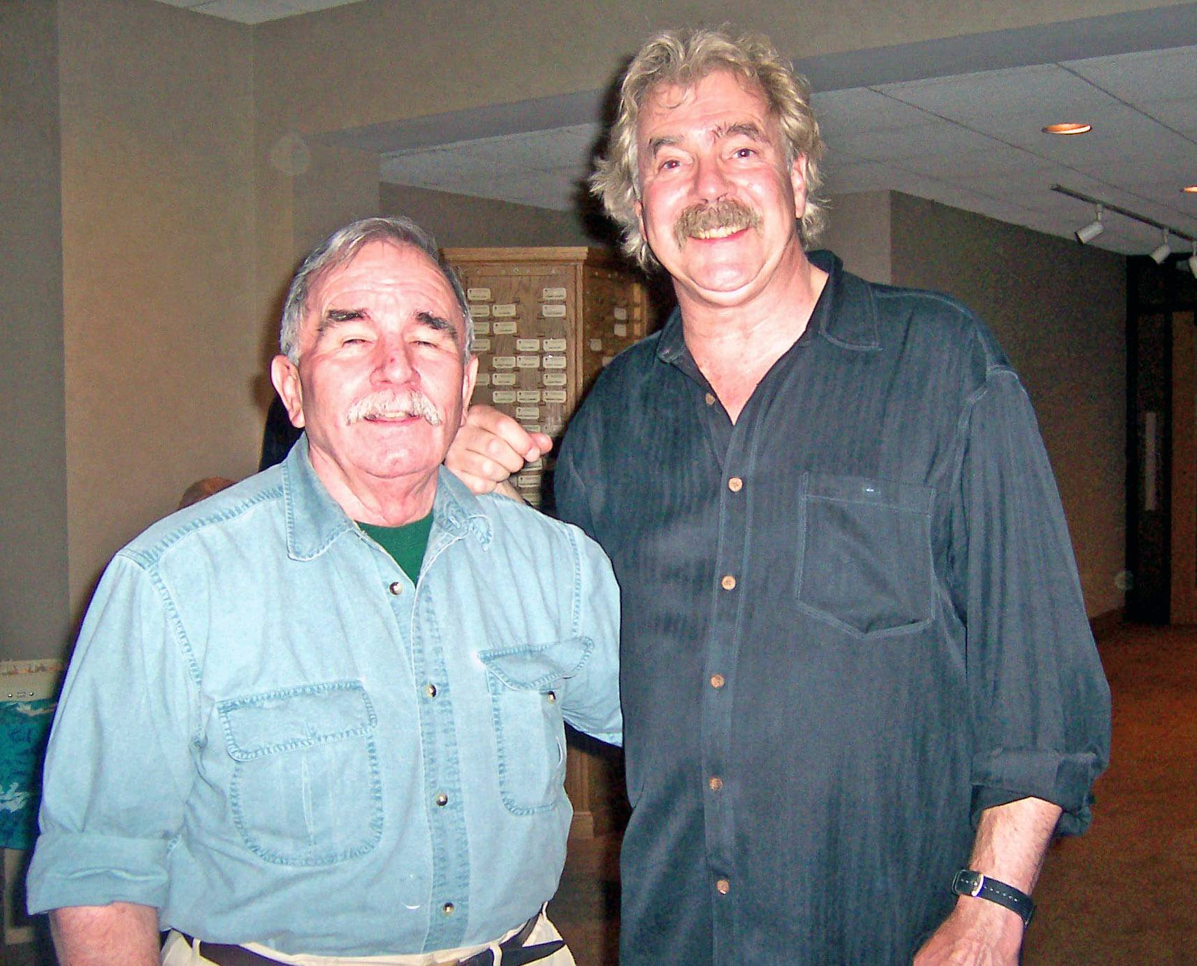 Jim Clare with Tom Rush at Golden Link Concert