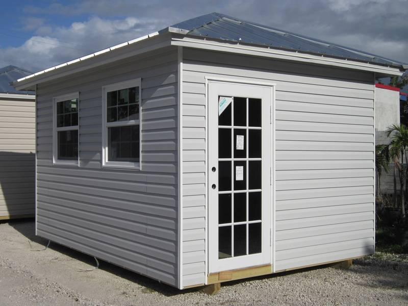 10x14 home office / home door / hip roof