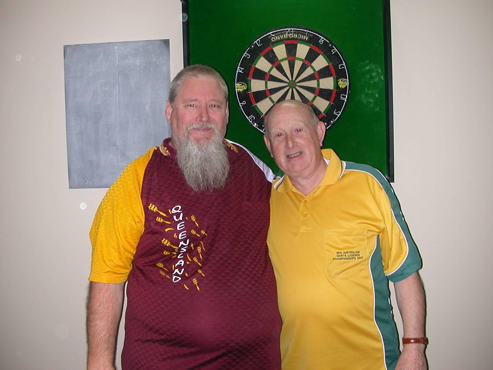 Mens Doubles R/Up Dean Parkins & Dave Mann