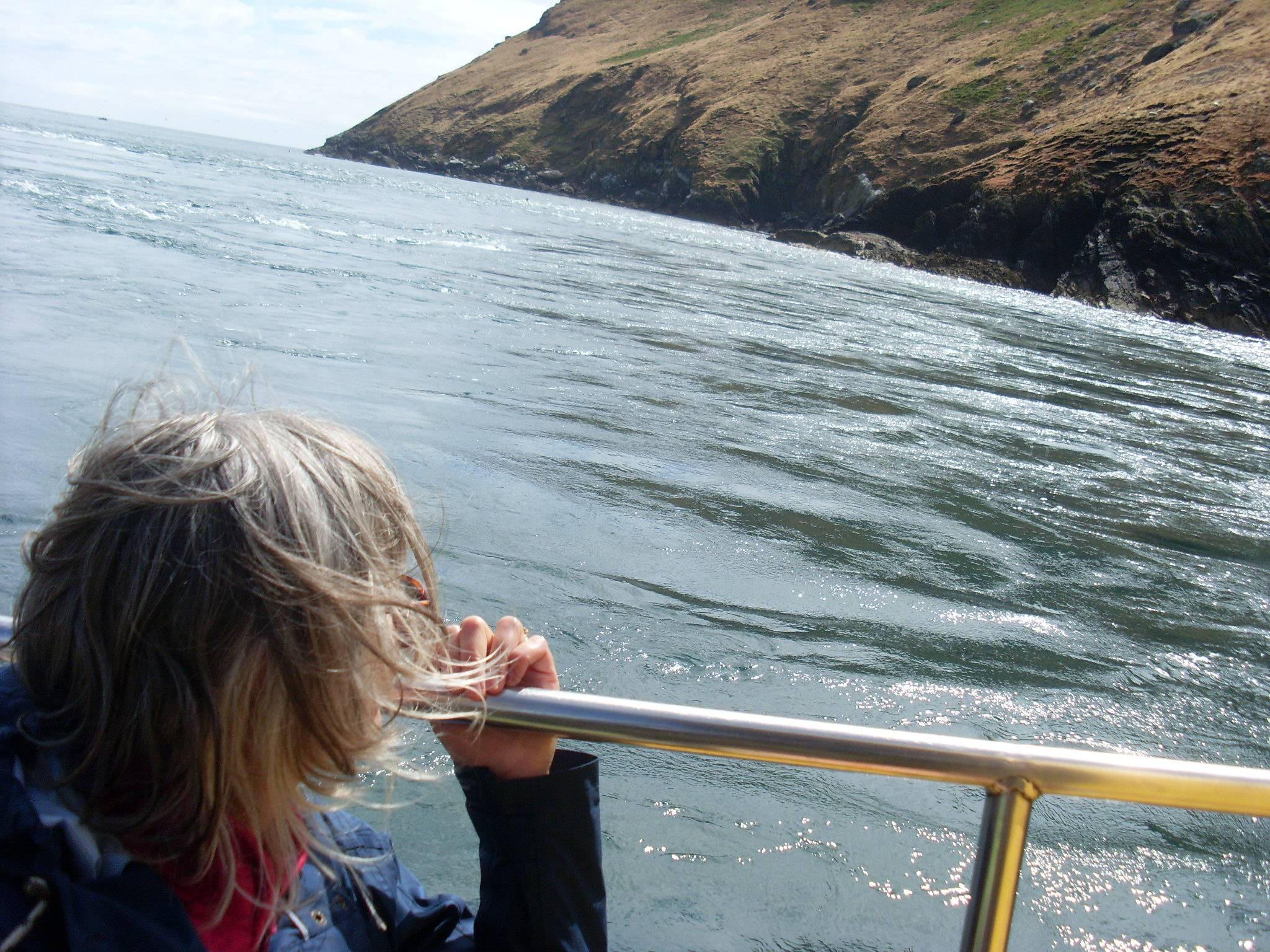 Boat ride from Bardsay.