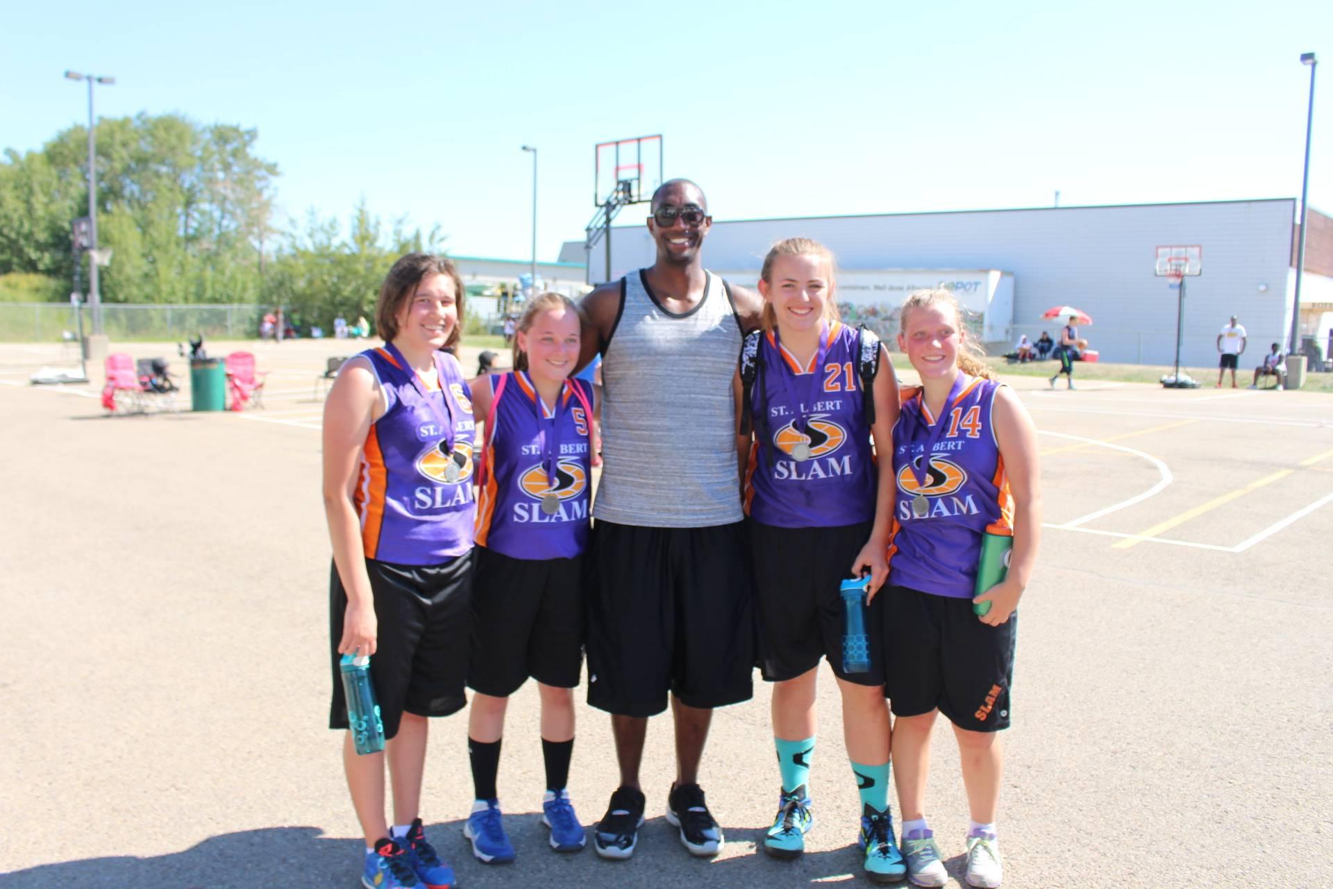 13-15yrs Old Girls Runner's Up: St. Albert Slam