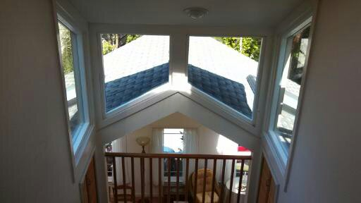 Raked window replacements