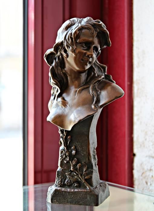 Sculpteur Anton R. Nelson - Art Nouveau