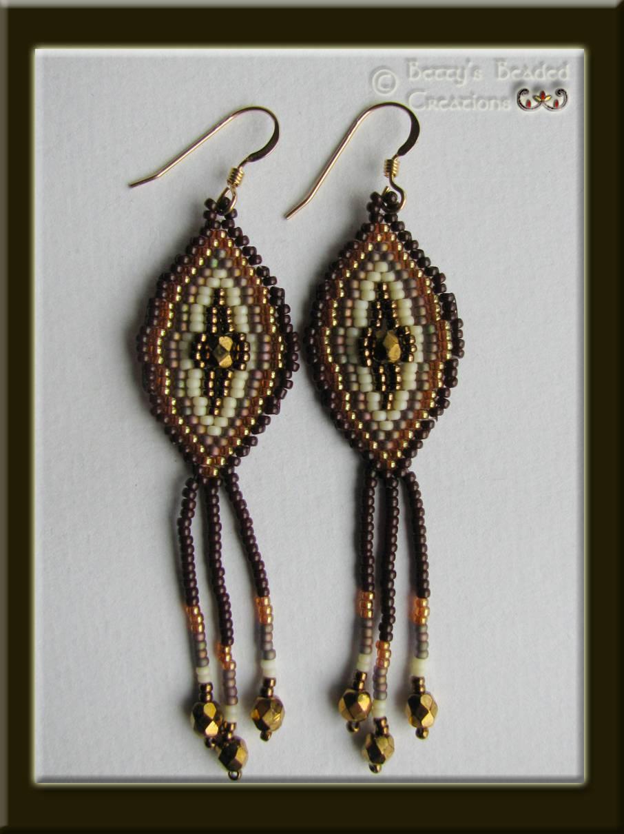 Brickstitch Earrings