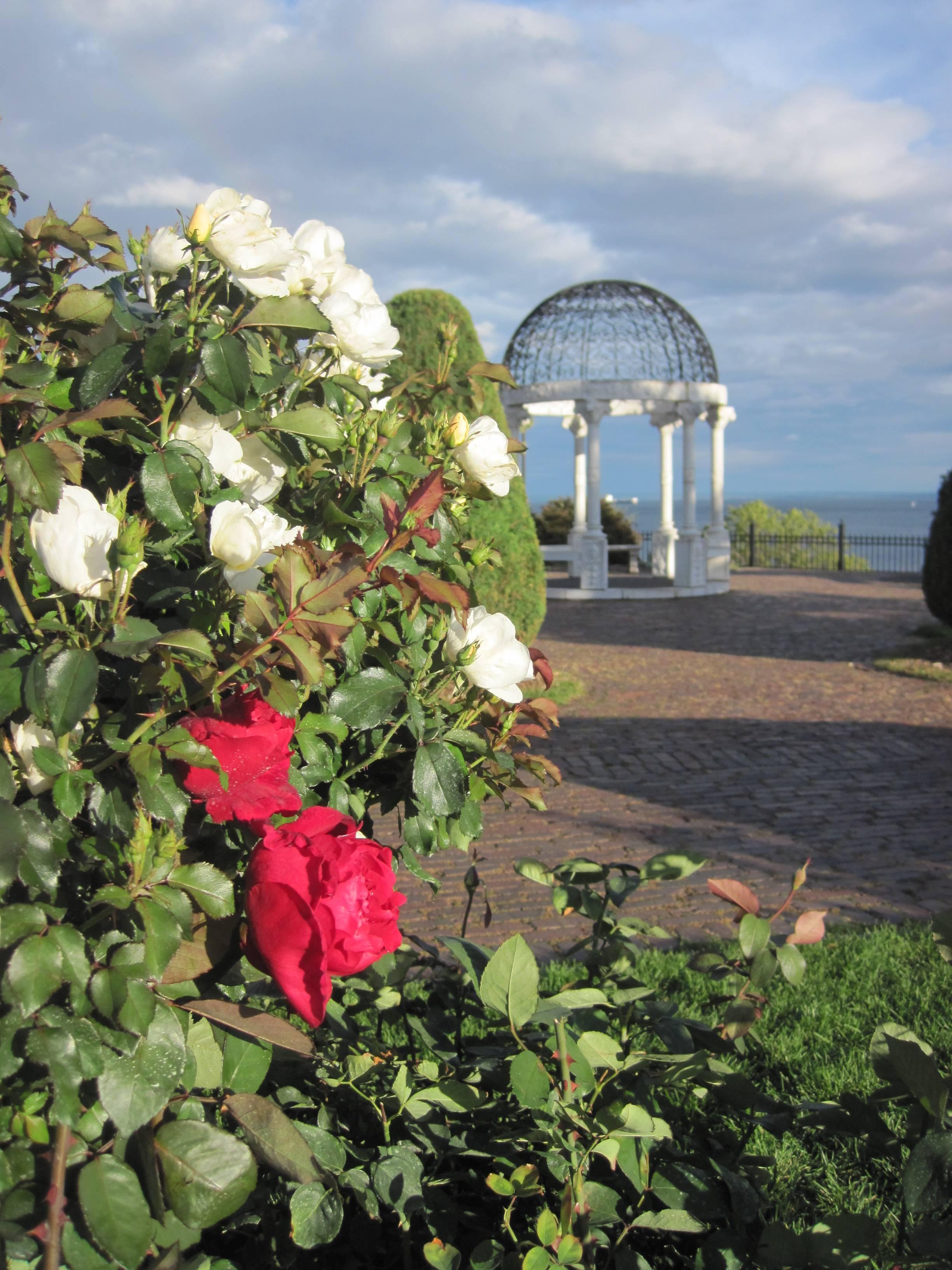 Leif Erikson Rose Garden with Gazebo