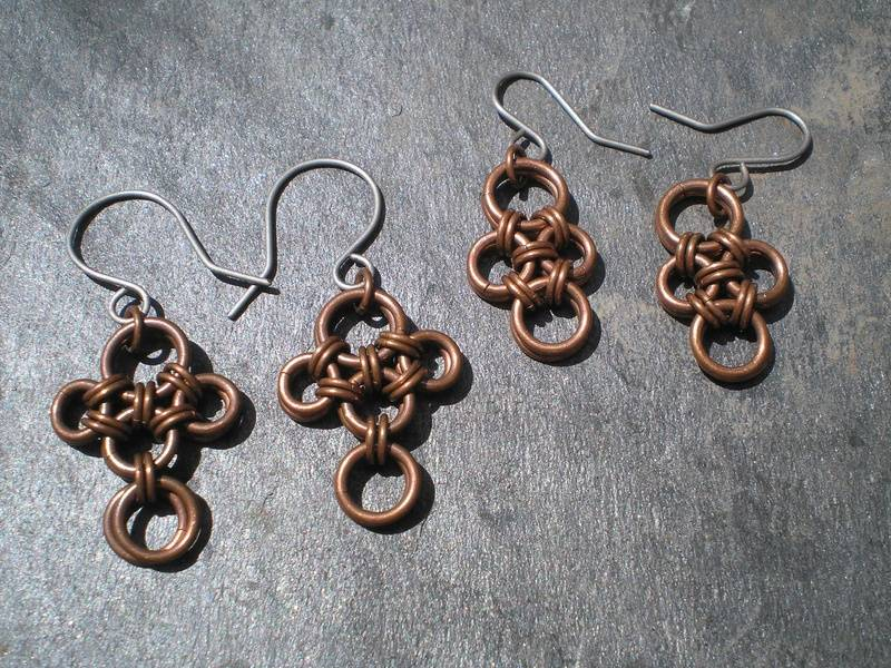 Simple Copper earrings