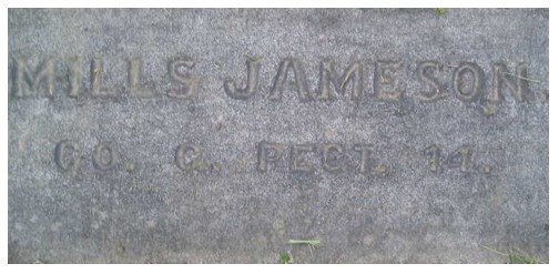 JAMESON, Milles - Cpl., Co. G