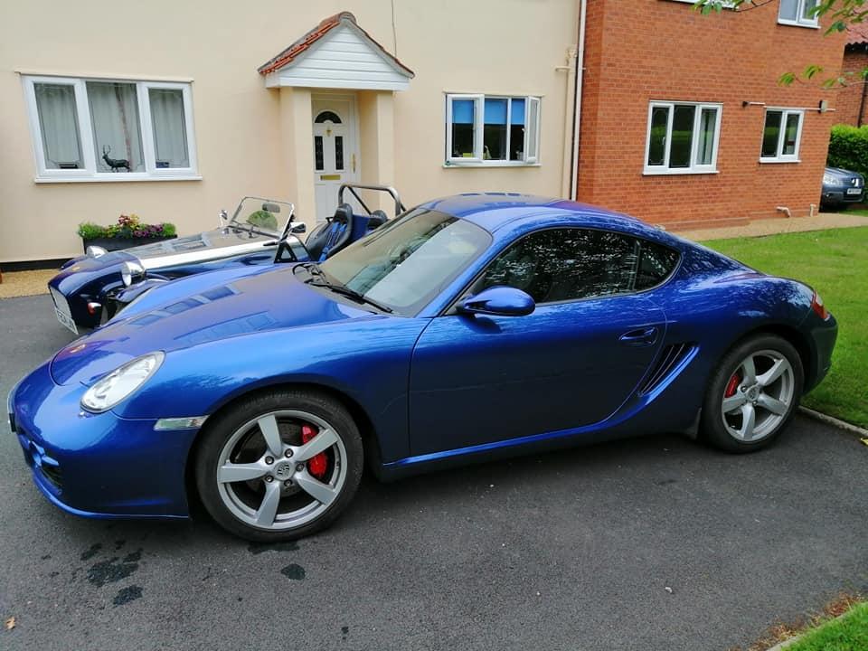 Alan & Dawn's Porsche Cayman Tiptronic S