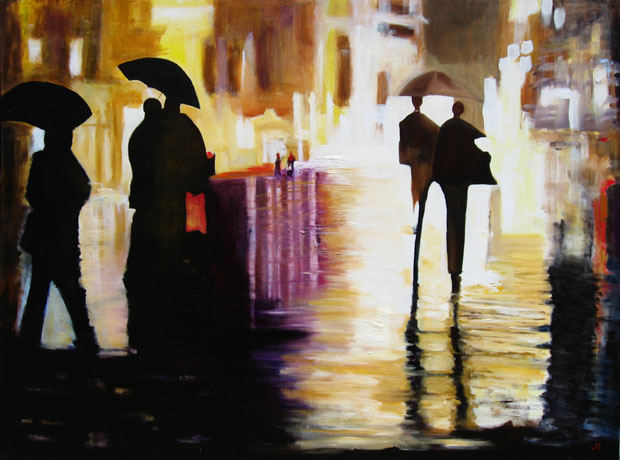 """""""Into The Night (SOLD)"""""""
