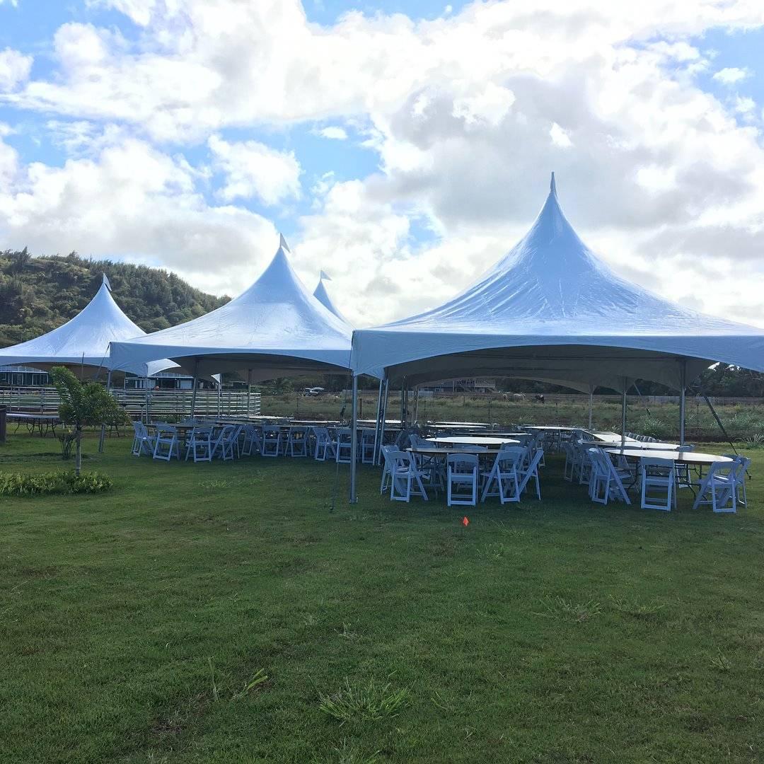 20'x20' High Peak Tents