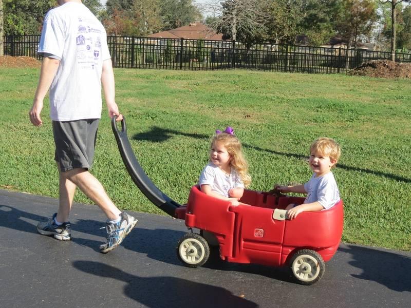 Addie & Egan get a ride from Eric.