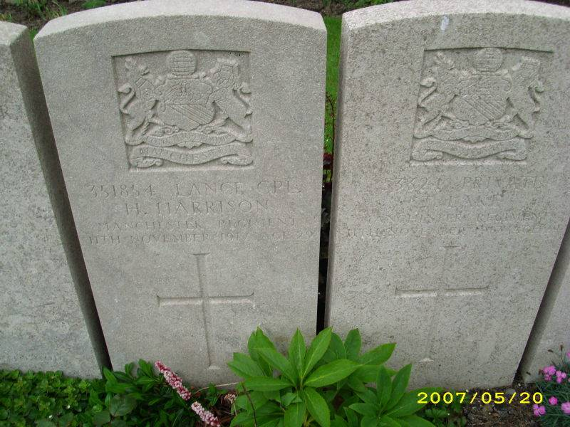 L/Cpl. 351854 HAROLD HARRISON. 2/9th Bn.