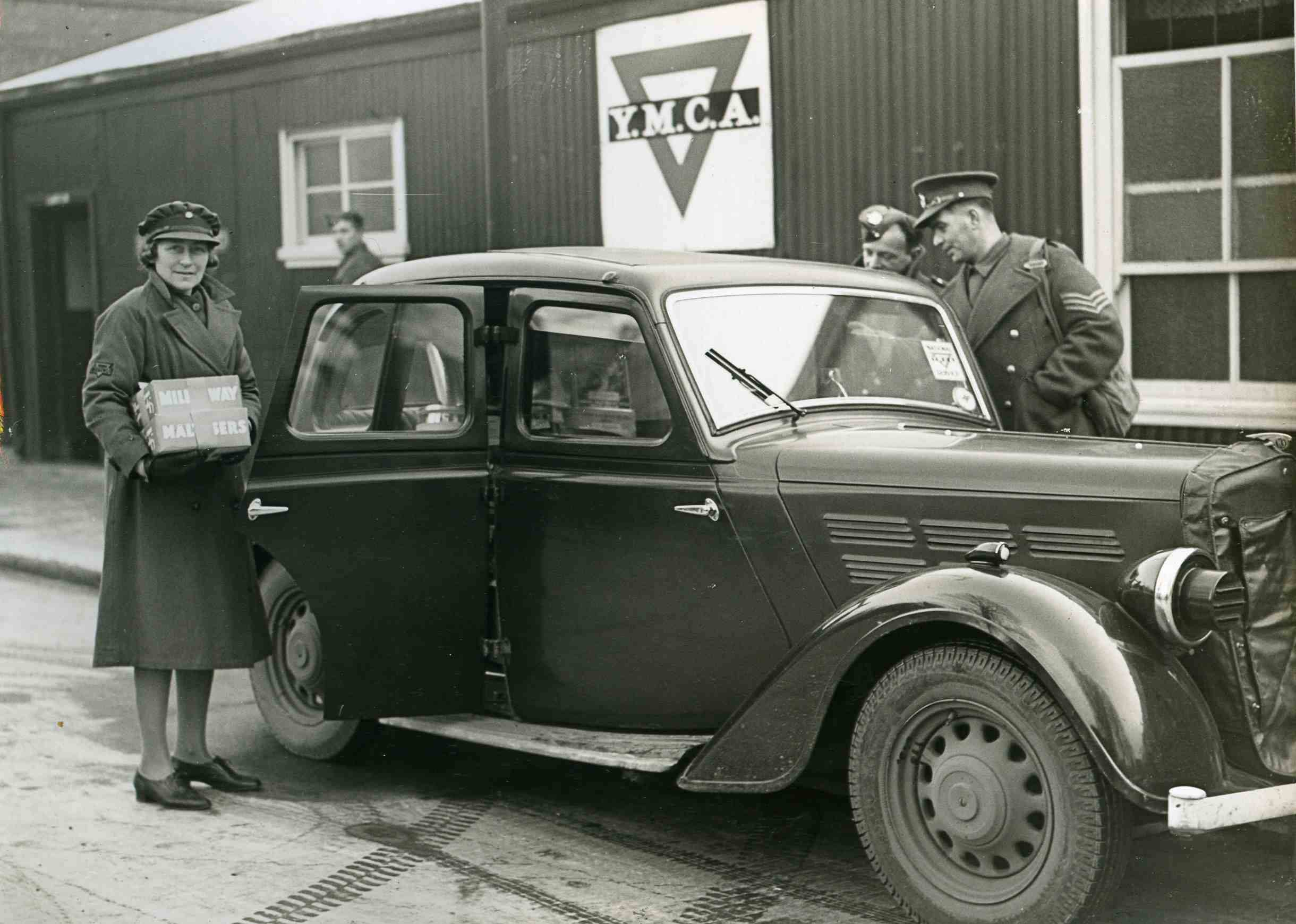 YMCA car allocated to Women's Auxiliary