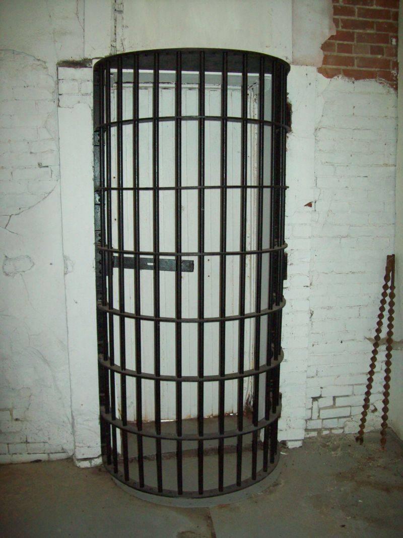 Old Jasonville Jail 1900's
