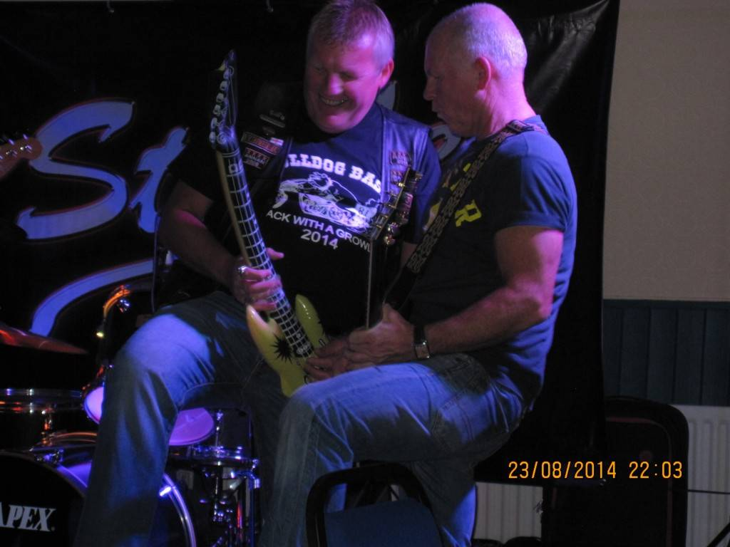 Guest guitarist from 4X M-C