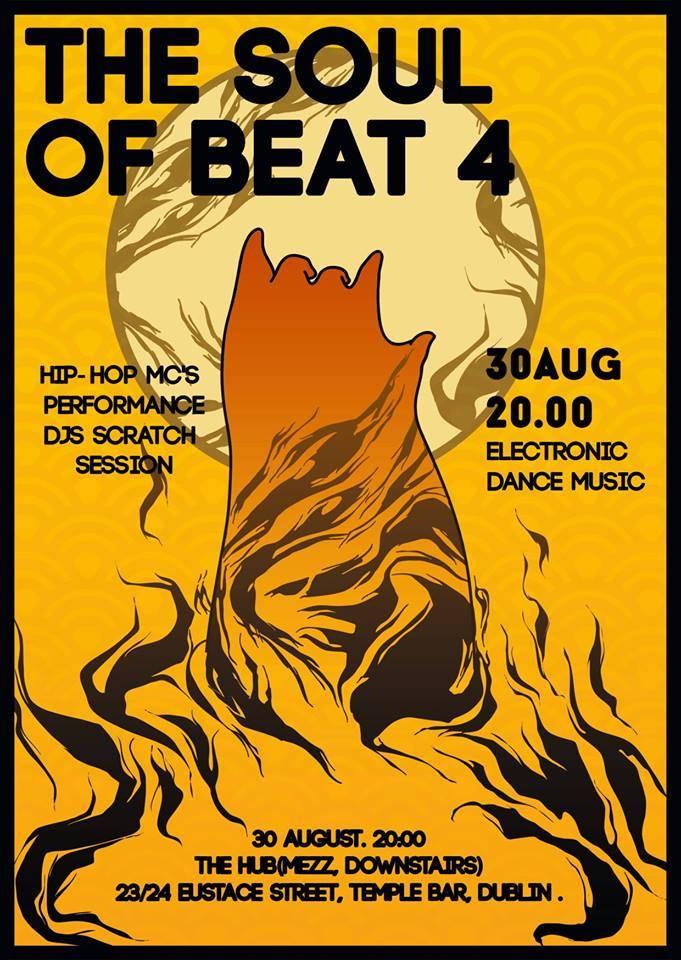 2014.08.30 - Soul of Beat 4 - The Hub @ Dublin