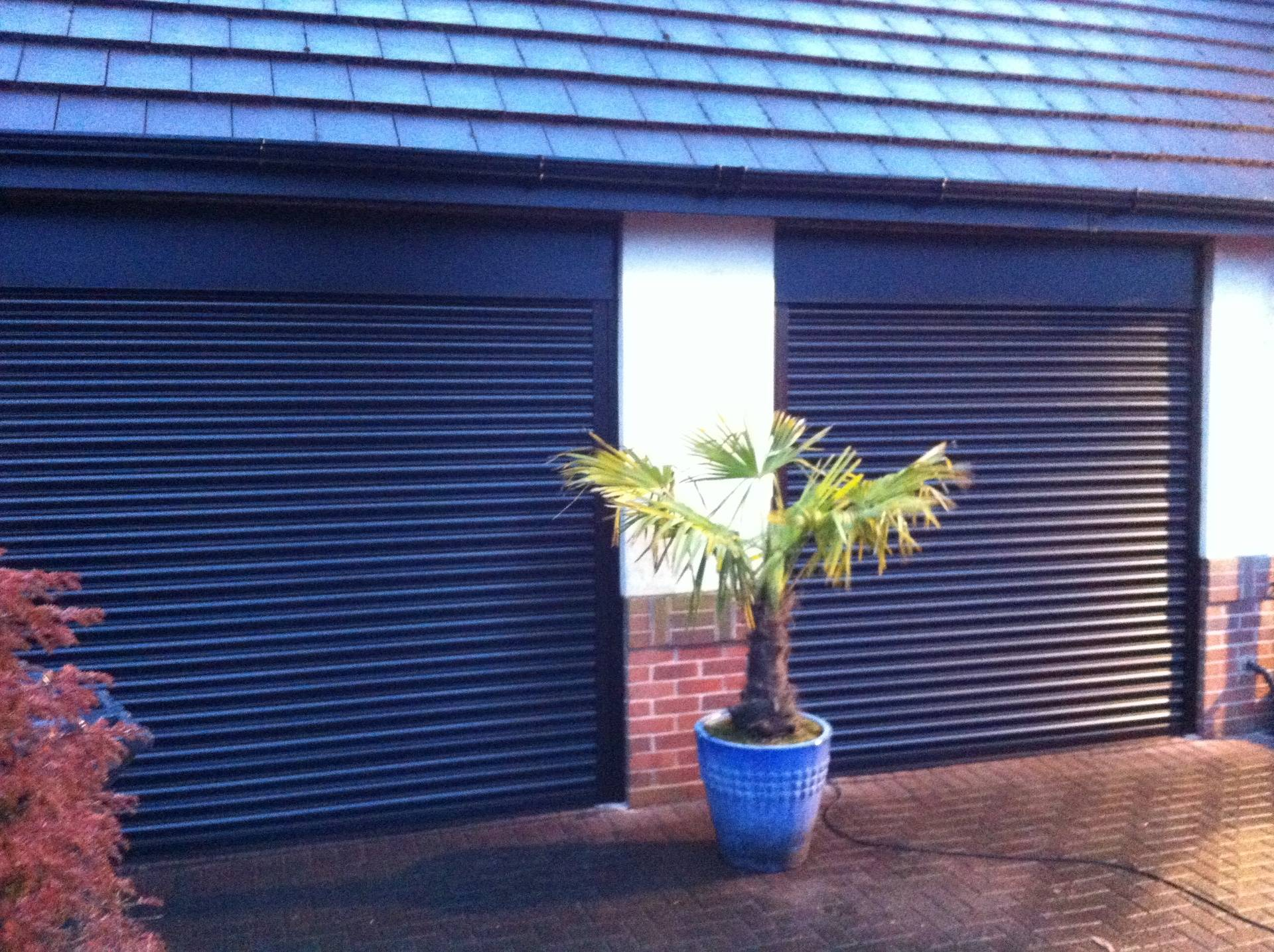 Electric remote shutters.