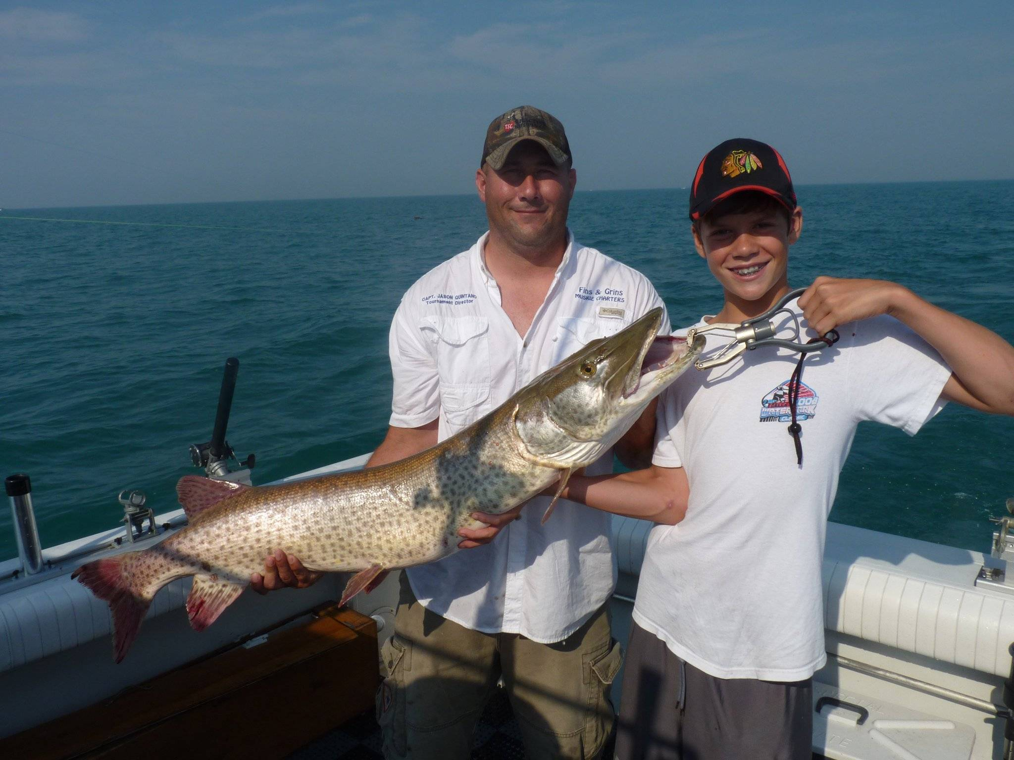 Fins & Grins Muskie Charters