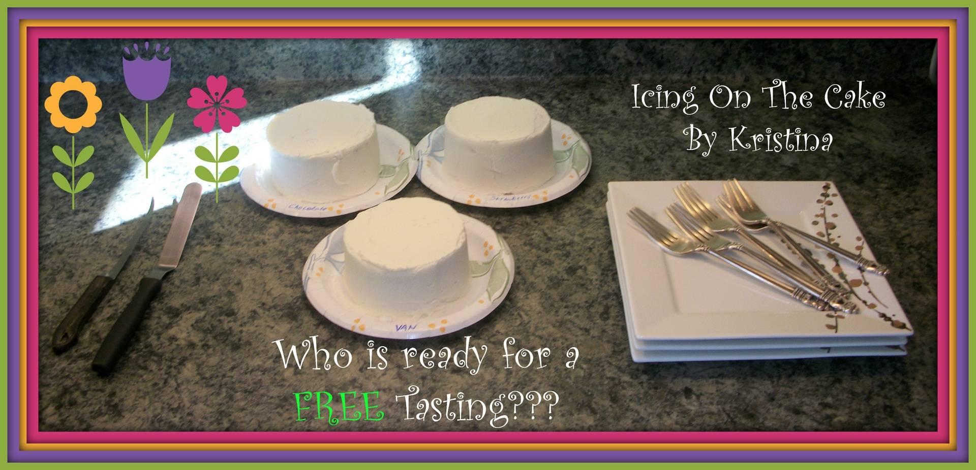 FREE Cake Tasting?!?!